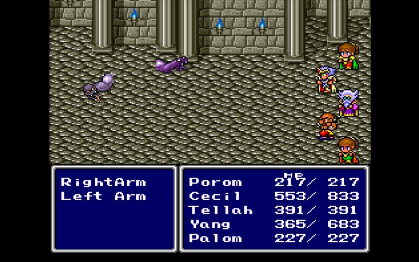 Final Fantasy II enemies