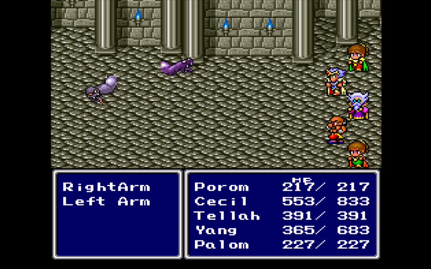 Final Fantasy II enemies