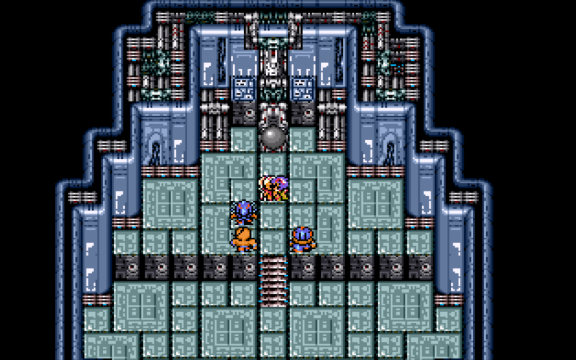 Final Fantasy II Making Out