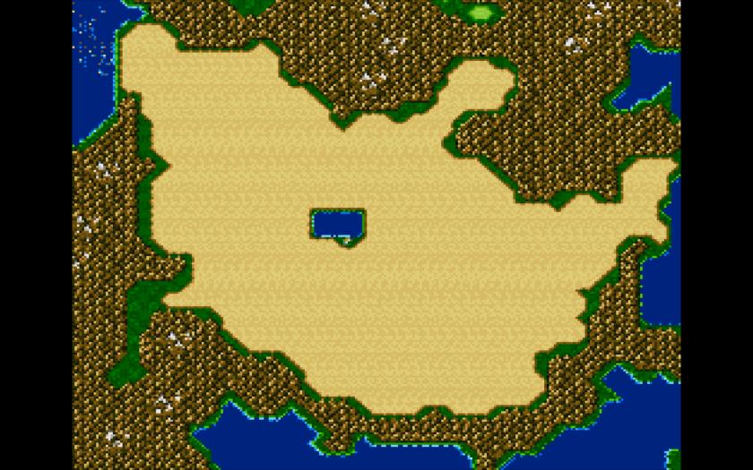 Final Fantasy II Sight Magic