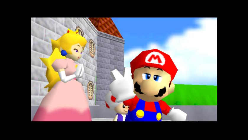 Super Mario 64 Ending