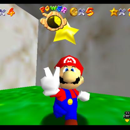 Super Mario 64 Roger Stone