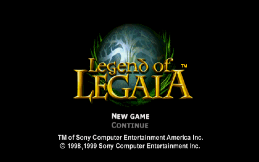 Legend of Legaia title screen.png