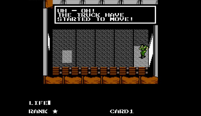 Metal Gear NES Engrish