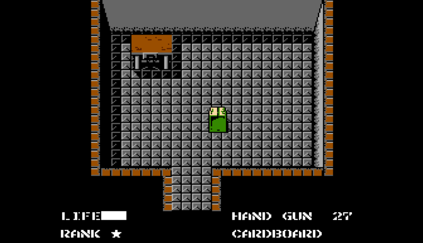 Metal Gear NES Motif 2