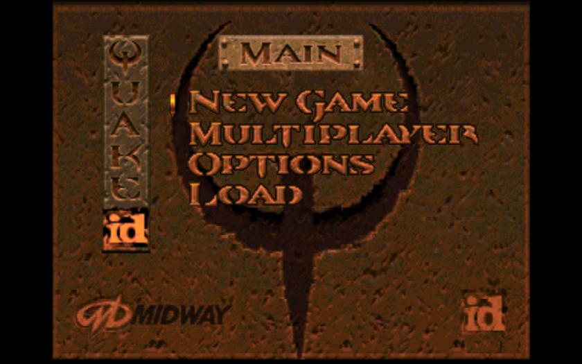 Quake Title Screen