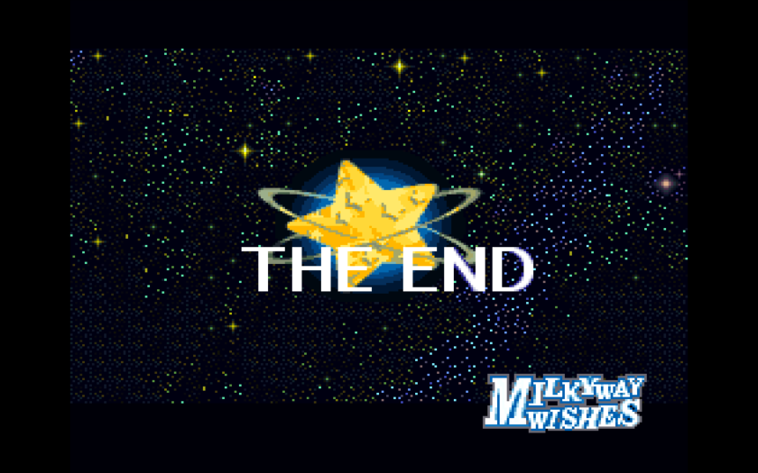 Kirby Super Star The End