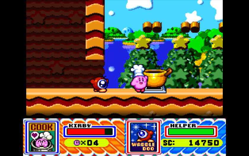 Kirby Super Stars Chef