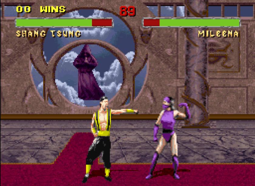 Mortal Kombat II Dance Off