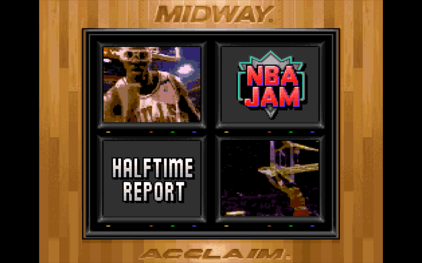 NBA Jam Halftime