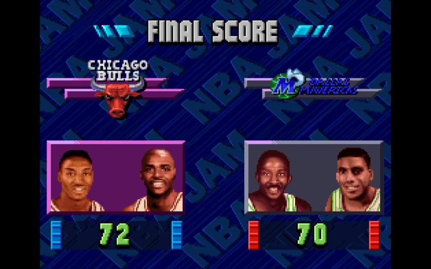 NBA Jam Scoreboard