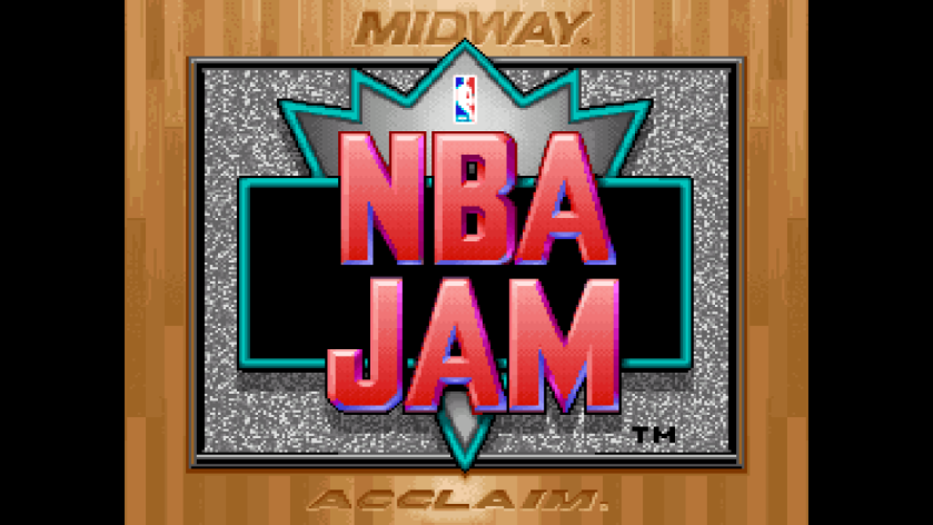 NBA Jam Title Screen