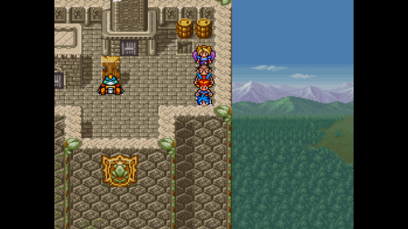 Breath of Fire II Graphics