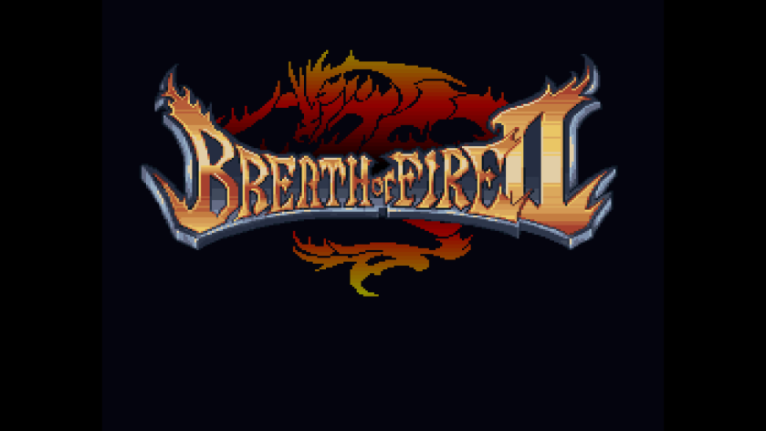 Breath of Fire II Title Screen
