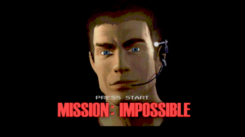 Mission Impossible N64 Title Screen