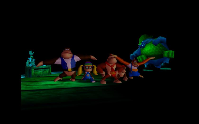 Donkey Kong N64 Cast