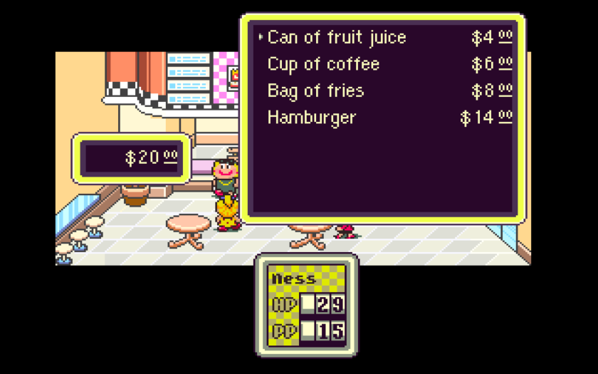 SNES Earthbound Inflation