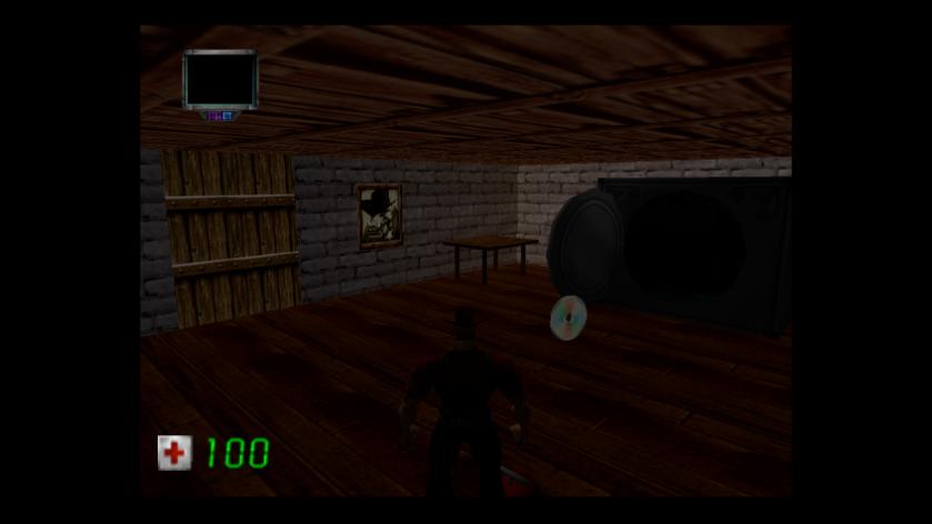 Duke Nukem Zero Hour N64 CD-ROM