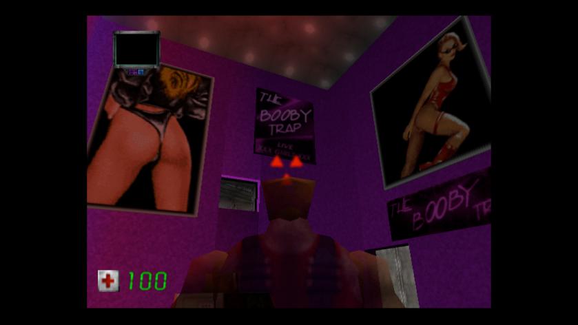 Duke Nukem Zero Hour n64 play on words