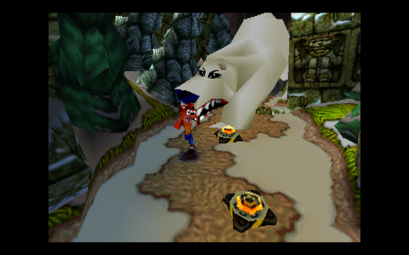 Crash Bandicoot Polar Bear