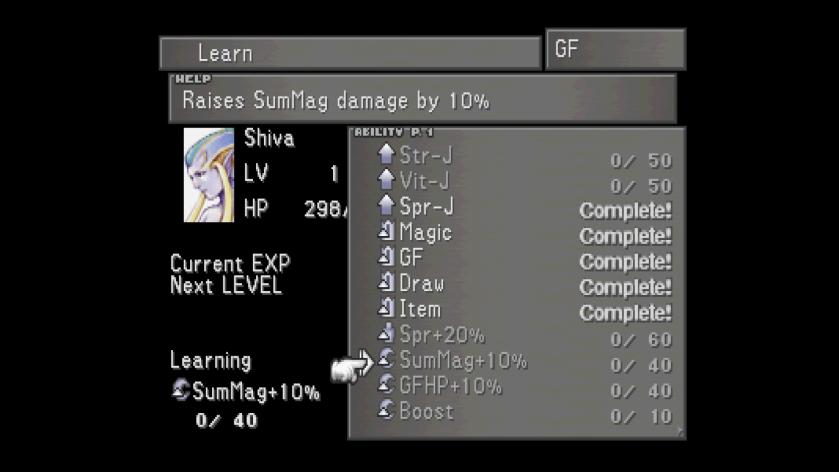 Final Fantasy 8 FF8 GF