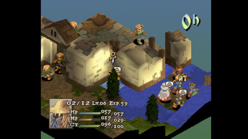 Final Fantasy Tactics Board.