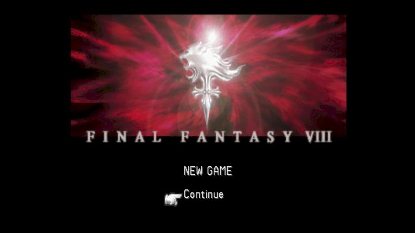 Final Fantasy VIII Title Screen