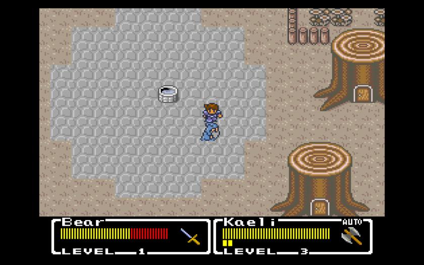 Mystic Quest Final Fantasy Town