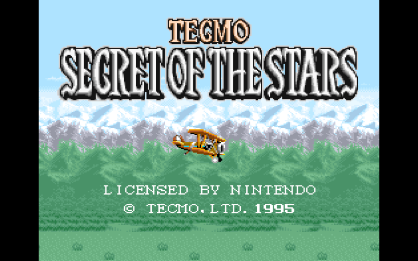 Secret of the Stars SNES
