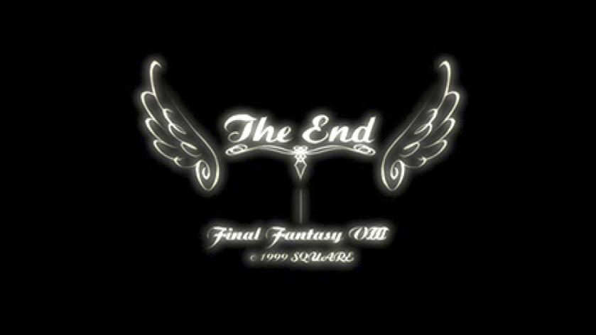 Final Fantasy VIII the end