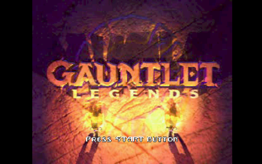 Title screen guantlet legends