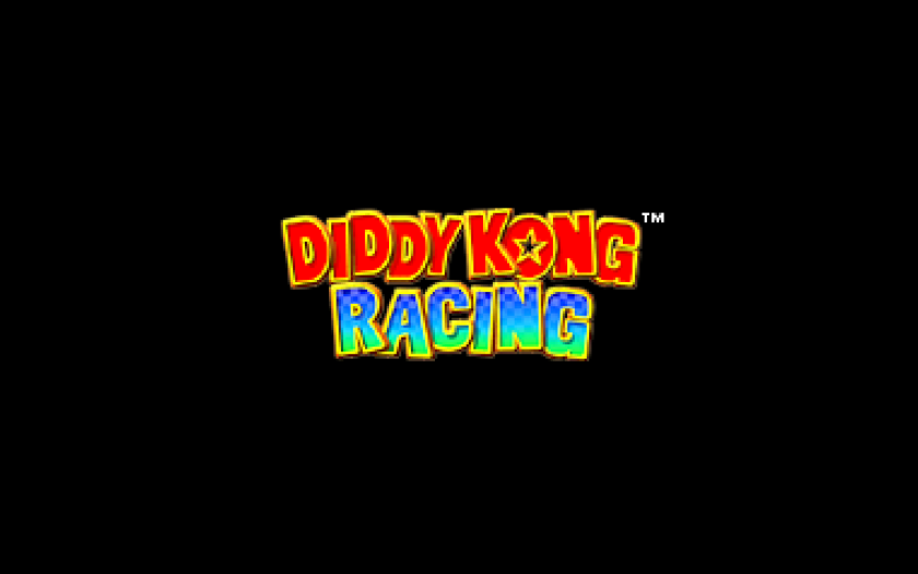 Diddy Kong Racing title Screen n64