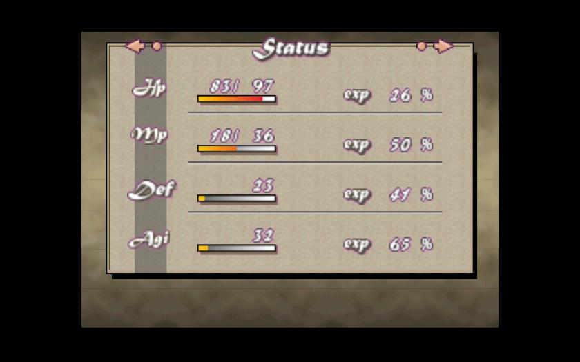 Quest 64 Stats