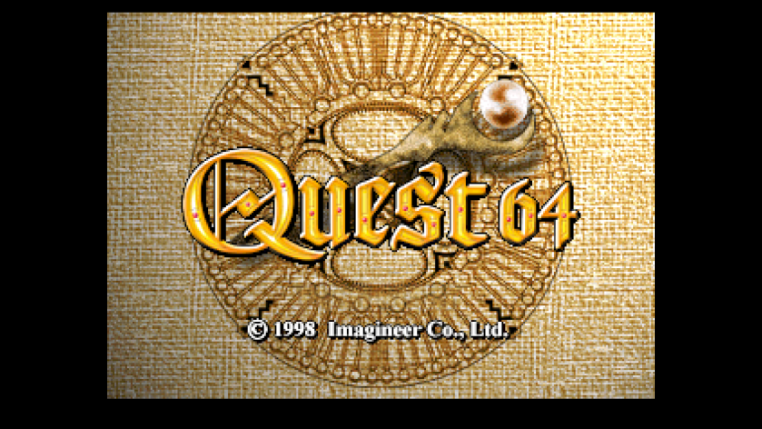 Quest 64 Title Screen