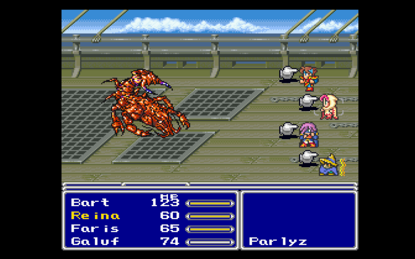 Final Fantasy V Final Fantasy Anthology Names 2