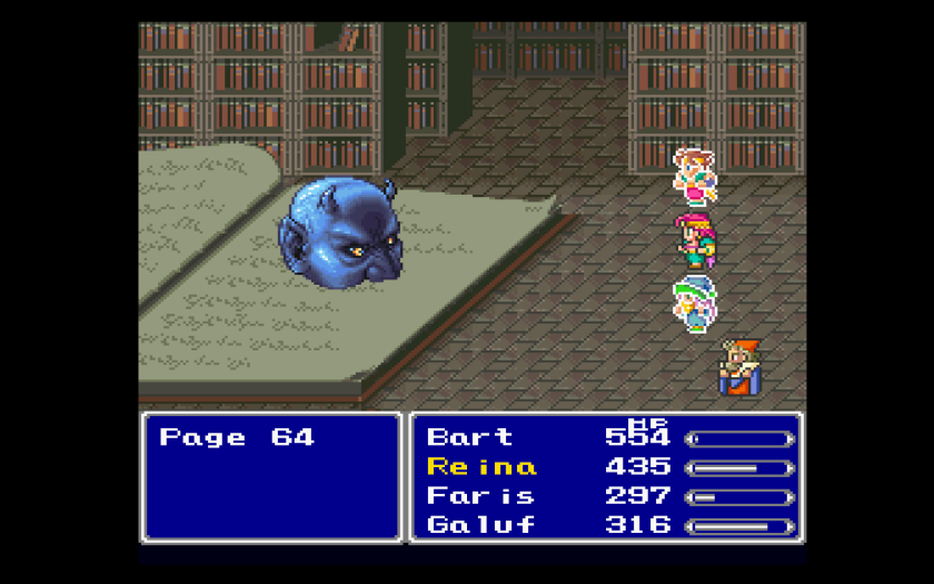 Final Fantasy V Final Fantasy Anthology Names 3