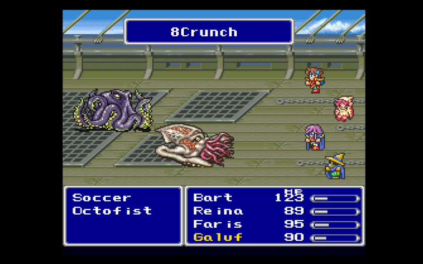 Final Fantasy V Final Fantasy Anthology Names
