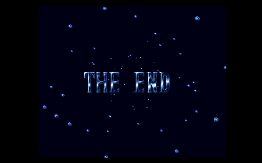 Final Fantasy V Final Fantasy Anthology The End