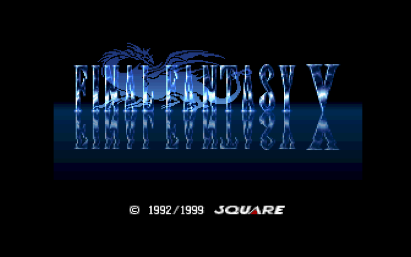 Final Fantasy V Final Fantasy Anthology Title Screen