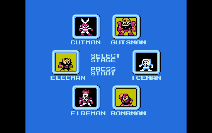 Mega Man Select Your Own Adventure