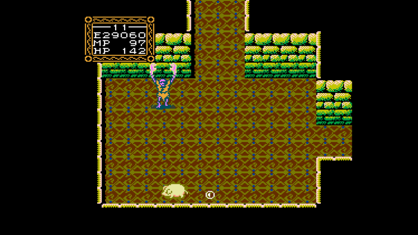 Zombie Turns You Into A Big Willow NES